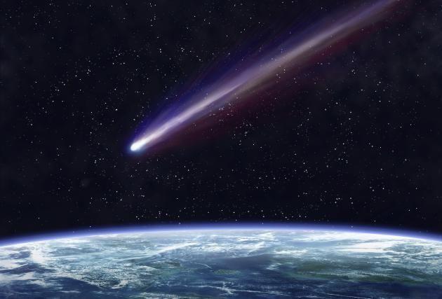 Si la Tierra estuviera amenazada por impacto de meteoritos, etc. …