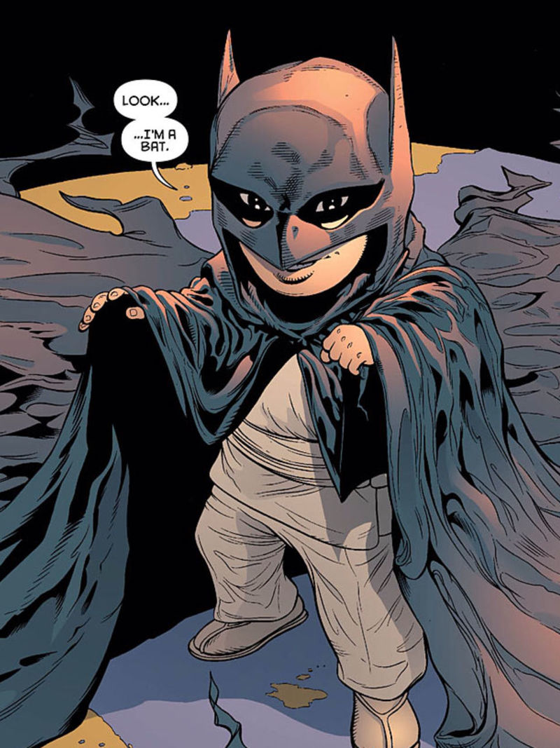 ¿Cómo se llama el hijo de Batman?