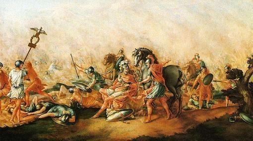 Para comenzar una facilita, ¿qué batalla es famosa por ser el más claro icono de una derrota de las legiones romanas ?