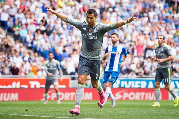 ¿Cuántos goles marcó Cristiano Ronaldo en la visita a Cornellá-El Prat?