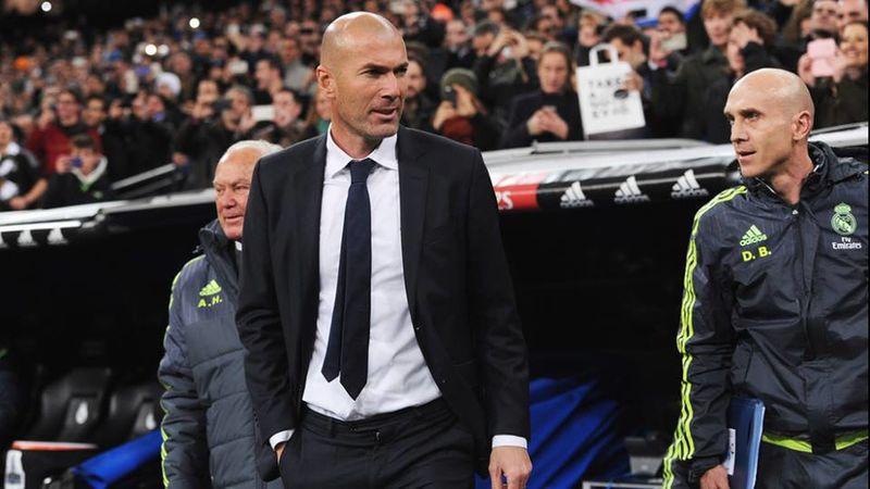 ¿Ante qué rival debutó Zinedine Zidane como entrenador del Real Madrid?