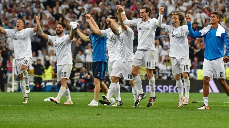 ¿Cuántos goles en total encajó el Real Madrid como local en la Champions League?