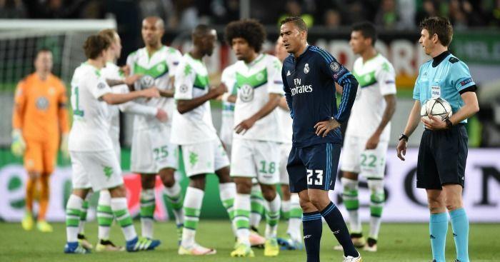 ¿Qué jugador cometió un penalti ante el Wolfsburgo, que fue decisivo, en los cuartos de final de Champions?
