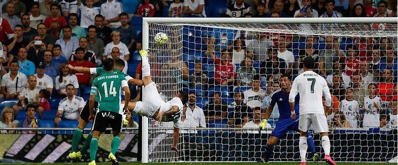 ¿Cuál de los siguientes sucesos NO corresponde al partido frente al Real Betis de la jornada 2? (5-0 para el Madrid)