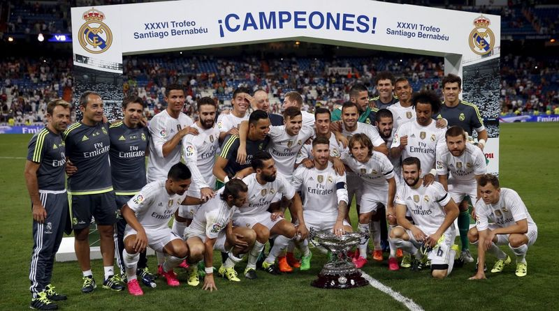 ¿Quién fue el club invitado al 36º Trofeo Santiago Bernabéu?