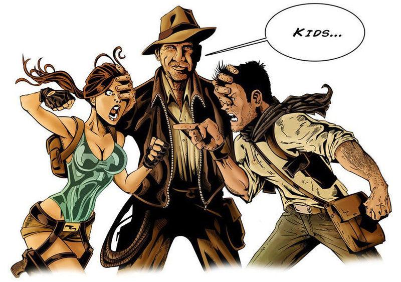 Lucha de exploradores: