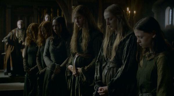 ¿Qué tienen en común Walda Frey la Bella, Amerei Frey, Annara Farring y Mylenda Caron?