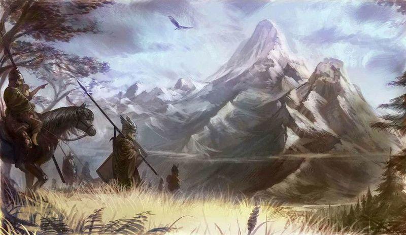 Sí deseas cruzar las Montañas de los Huesos en Essos. ¿Cuál de estos caminos no es una opción verdadera?