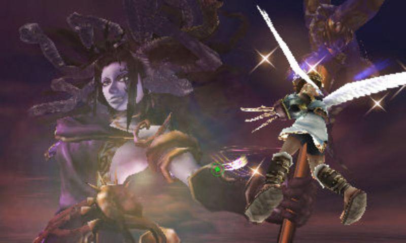 Durante su batalla, Medusa te arroja escombros mientras tratas de acercarte. ¿Qué figura se puede distinguir entre ellos?