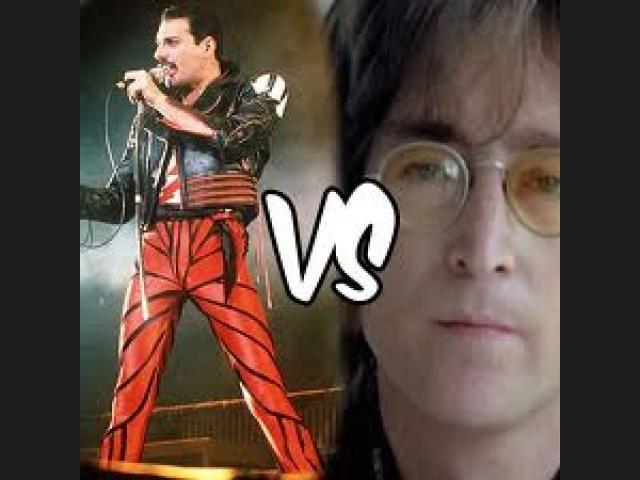 ¿Freddy Mercury o John Lennon?