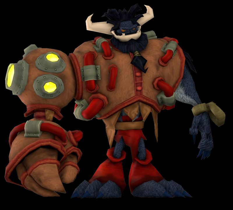 ¿Cómo se llama el monstruo que lanza rocas de fuego a la aldea de piedra en Jak and Daxter el Legado de los Precursores?