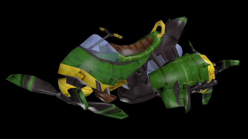 ¿Cómo se llama el vehículo que se usa para ir al Valle Ventoso en Daxter?