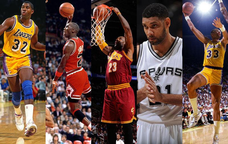 28538 - Mejor quinteto de la historia de la NBA