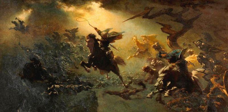 La égida de Zeus (escudo) o la caja de pandora