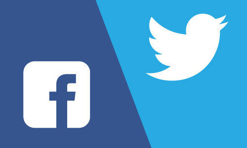 2 pesos pesados de redes sociales: Twitter/TweetDeck vs. Facebook