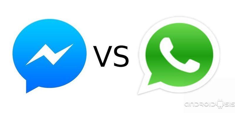 Mensajería: Whatsapp (Whatsapp Web) o Messenger (Facebook)