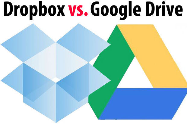 Nubes: Google Drive vs. Dropbox