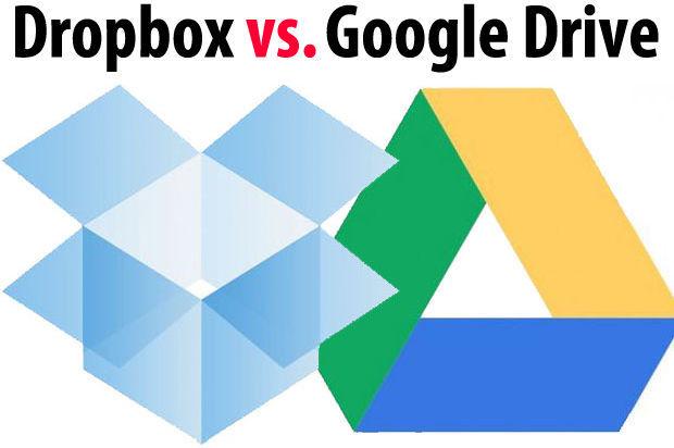Nubes: Google Drive vs. Dropbox