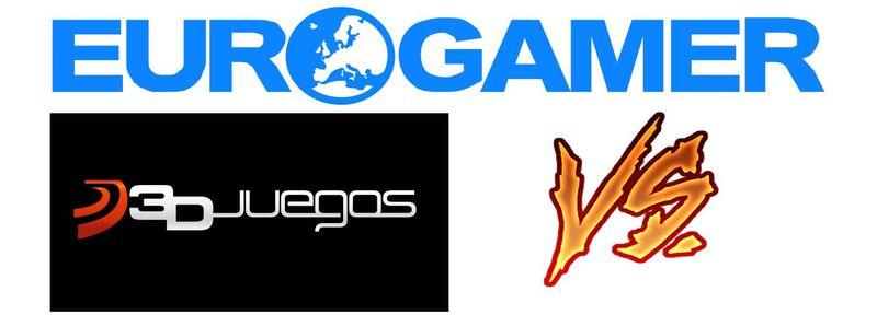 Para los gamers: 3DJuegos vs. Eurogamer
