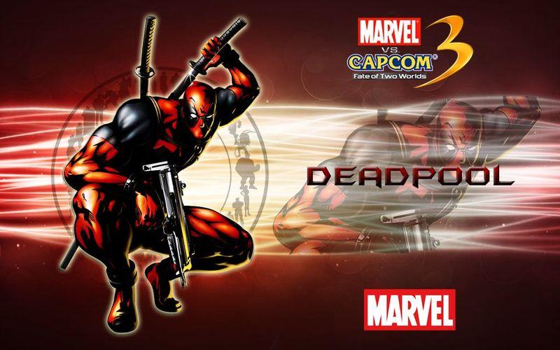 ¿Qué curiosidad tiene Deadpool en el videojuego Marvel vs Capcom 3?