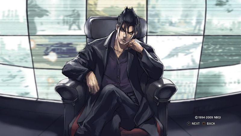 ¿Qué relación le une a Jin con Kazuya y Heihachi?