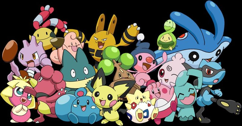 Todos los Bebés pokemon evolucionan mediante Amistad/Felicidad?