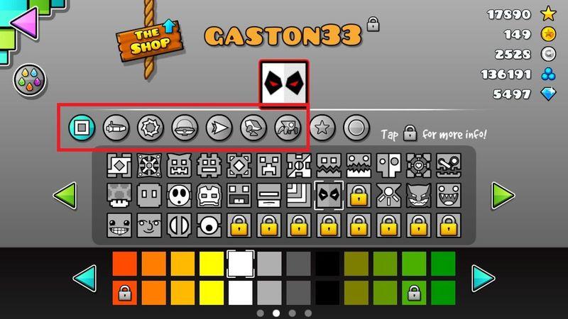 ¿Cuantos iconos hay en total en todo el juego?