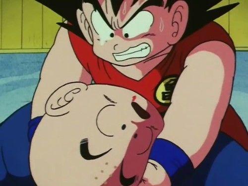 Muerte de Krilin en Dragon Ball