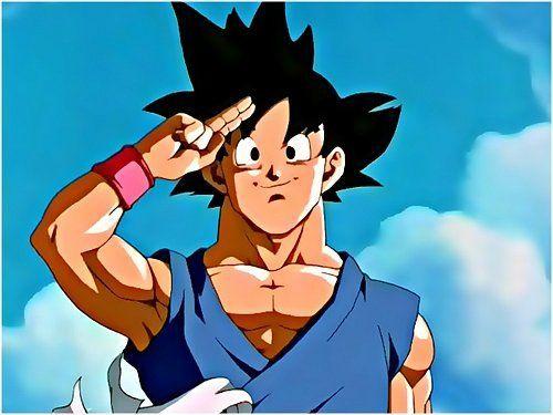 Goku se despide de todos en Dragon Ball GT