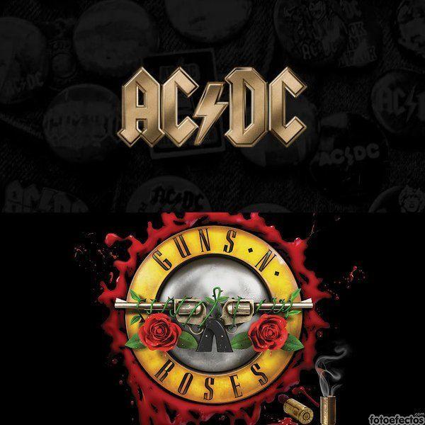 AC/DC vs Guns N' Roses