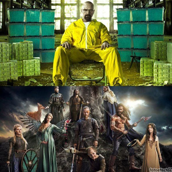 Breaking Bad vs Vikings