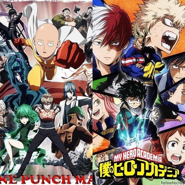 One Punch Man vs Boku No Hero Academia