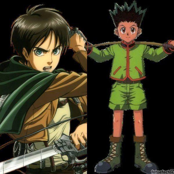 Eren vs Gon