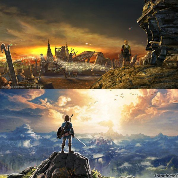 Final Fantasy vs The Legend of Zelda