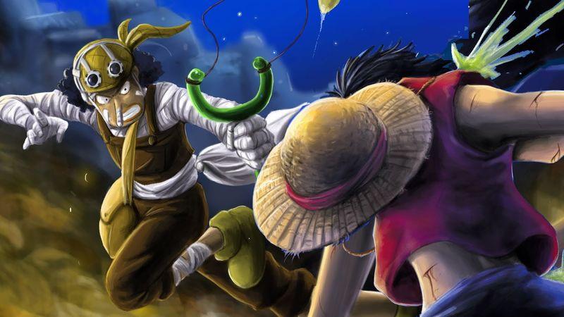 Luffy vs Ussop (y su consecuente resultado)