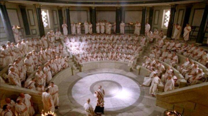 Esta es fácil ¿Cuáles fueron las 3 formas de gobierno de Roma? (Sí, se que la imagen es de 300)