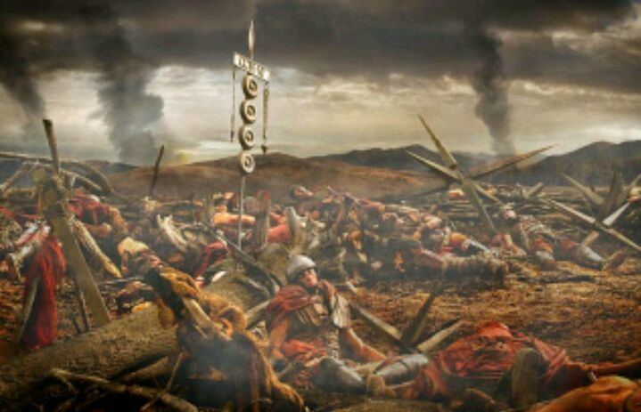 ¿Cuál fue la derrota más aplastante sobre Roma DURANTE la República?