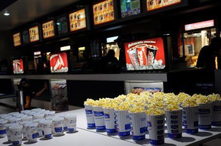 ¿Qué compras cuando vas al cine?