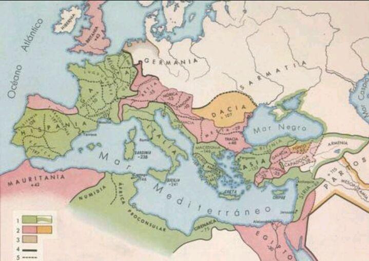¿Qué emperador logro la máxima extensión del imperio romano?