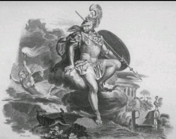¿Cuál es el dios romano de la guerra?
