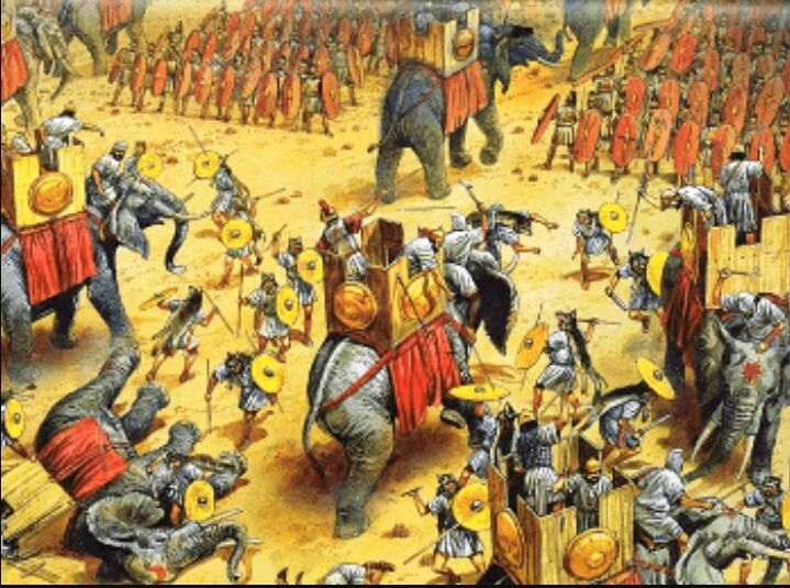 ¿Quiénes se enfrentaron en la batalla de Zama?