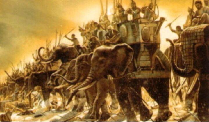 Otra sobre Zama (ALERTA SPOILER) ¿Que táctica usó Escipión para contrarrestar a los elefantes de Aníbal?