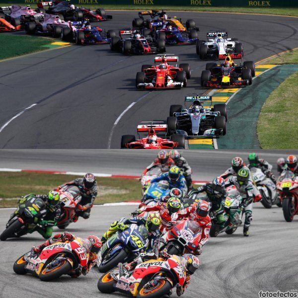 Fórmula 1 vs Moto GP