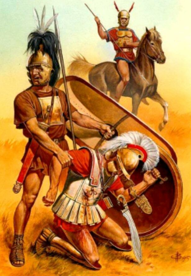 ¿Qué generales fueron capaces de derrotar a Aníbal?