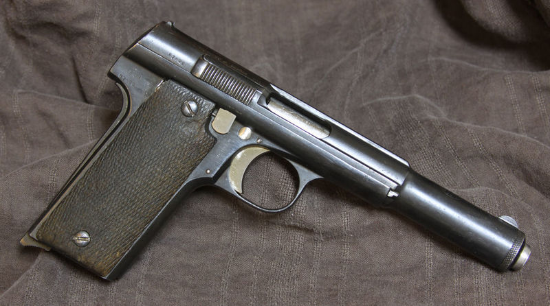 Por razones que no vienen al caso tienes en tu posesión un Astra 400, un mercader te ofrece venderte munición, ¿de qué tipo?