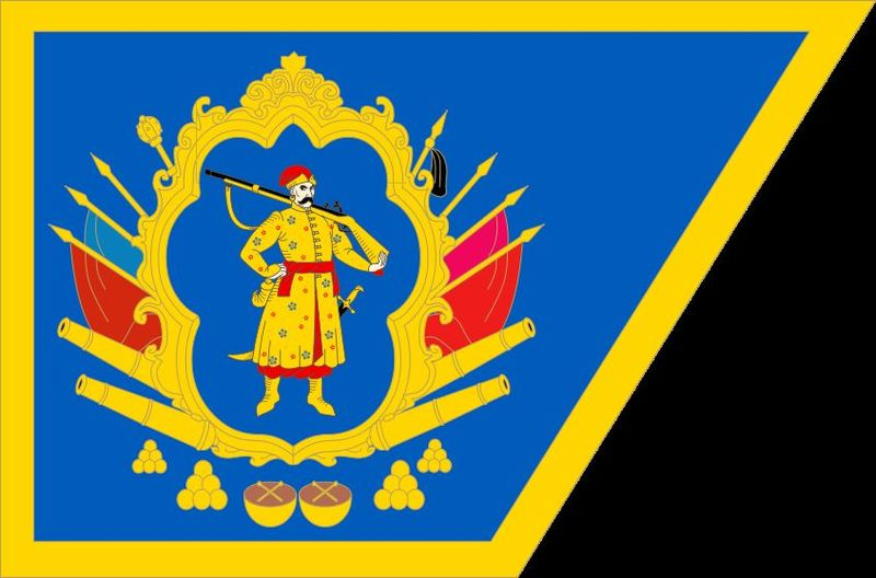 Vamos hacia el Europa del Este, despues al Occidente y transladamos hacia África, ¿Que territorio pertenecia esa bandera?