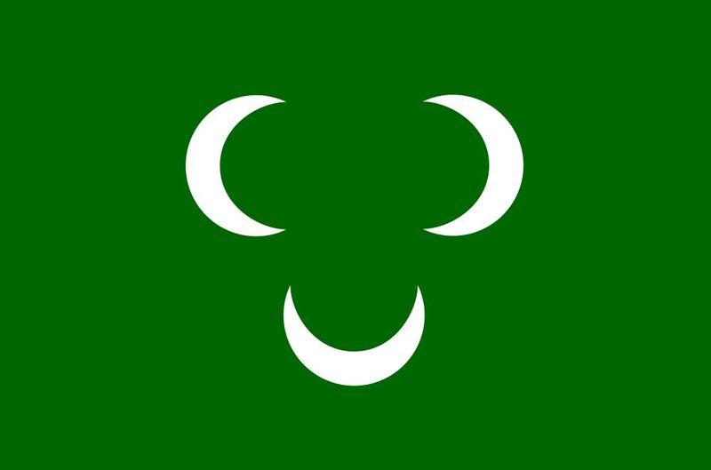Embarcamos por África del Norte, empezamos con algo dificilillo, ¿Que reino pertenecia esa bandera?