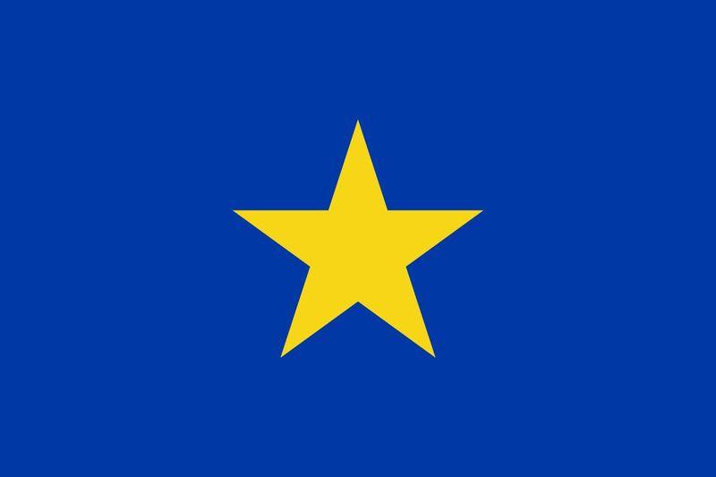 Entramos en otra colonia, esta vez más sencilla, ¿que colonia pertenecía esa bandera?