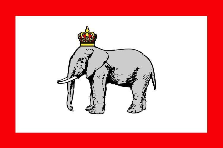 Vamos hacia África Occidental, empezamos con esa bandera, ¿Que país pertenecia esa bandera?