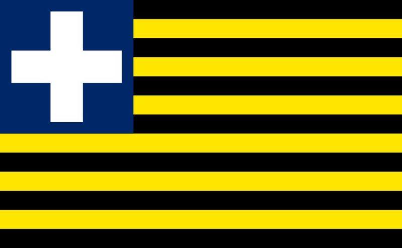 ¿En que pais usaba la bandera de la imagen?